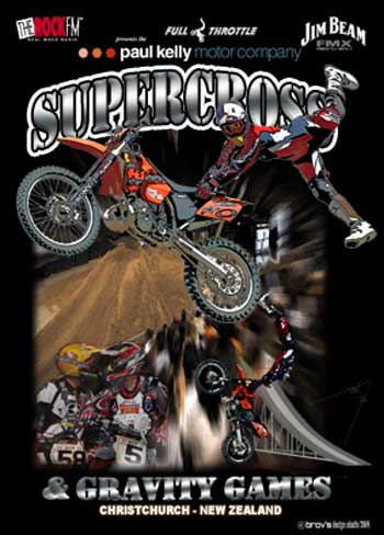 2003 SUPERCROSS and GRAVITY GAMES